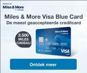 Miles and More Visa Blue Card bestellen