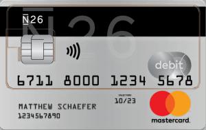 N26 Prepaid Mastercard aanvragen