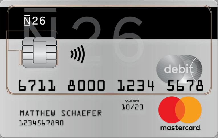 N26 Prepaid Mastercard