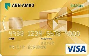 abn amro visa gold card