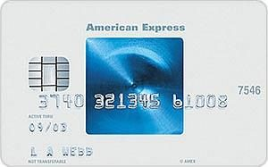 American Express Blue Creditcard