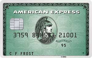 American Express Green Creditcard