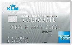 american express klm corporate card