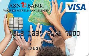 asn bank visa card