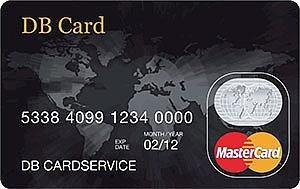 De DB card