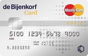 Bijenkorf Card aanvragen