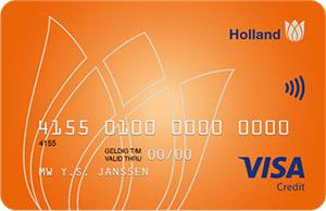 holland visa card