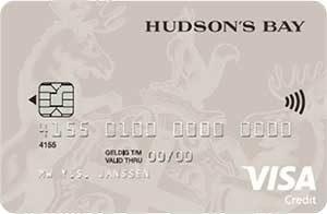 Hudson's Bay Card aanvragen