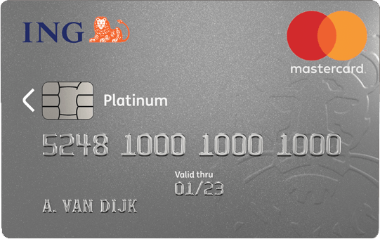 ing platinum creditcard