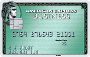knab amex business green card