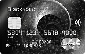 MasterCard Black Creditcard