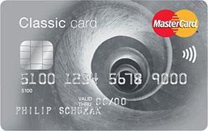 MasterCard Classic Creditcard
