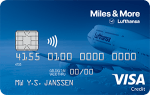 miles and more visa blue card