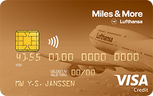 Miles & More Visa Gold Card