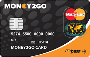 Money2Go Prepaid Mastercard