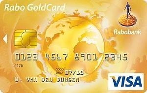 Rabo Gold Visacard