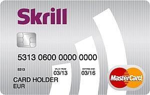 Skrill Prepaid Mastercard Creditcard