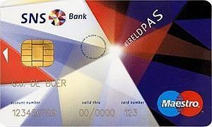 SNS Bank Visa Creditcard