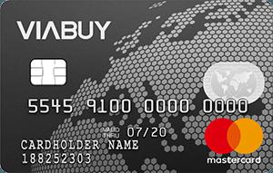 viabuy prepaid creditcard mastercard