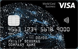 Visa World Card Business aanvragen