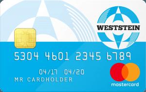 Westein Prepaid Mastercard aanvragen